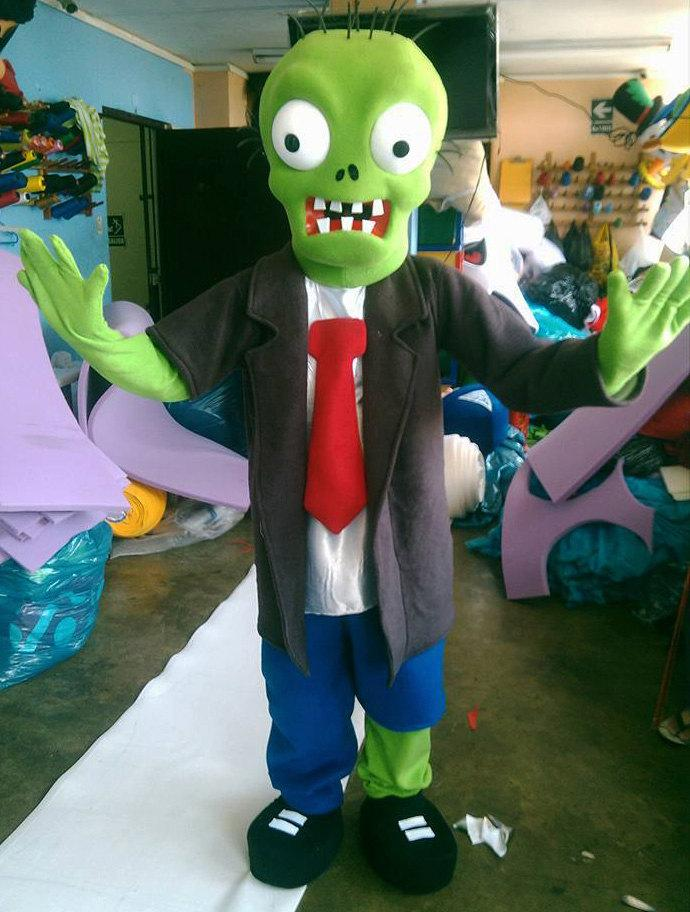 Pembuat Badut Maskot Halloween Karakter Zombie