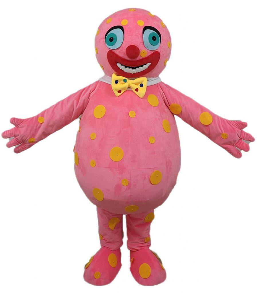 Pembuat Badut Maskot Mr Blobby