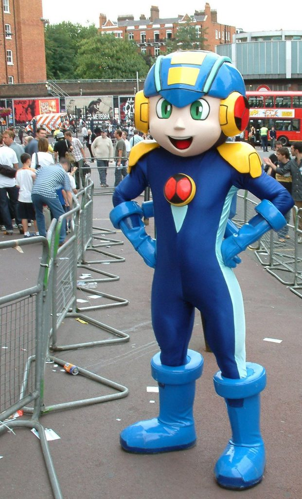 Produsen Badut Kostum Hero Mega Man