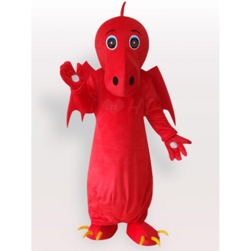 Jasa Pembuatan Badut Murah Karakter Naga Merah
