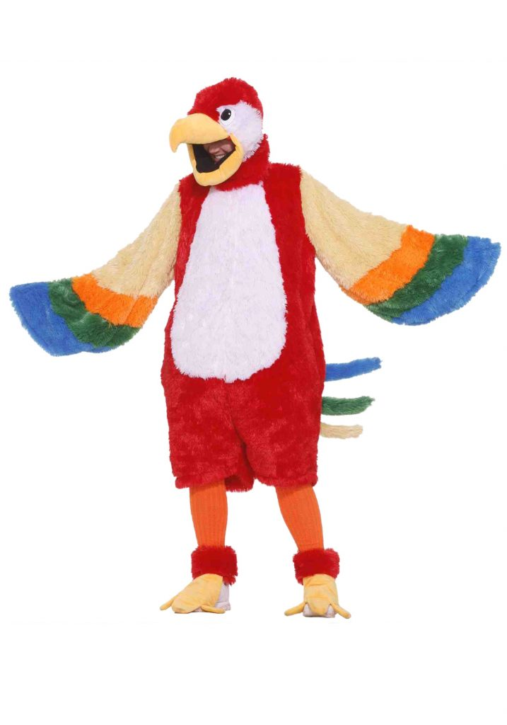 Pembuat Kostum Badut Maskot Murah Colorful Bird