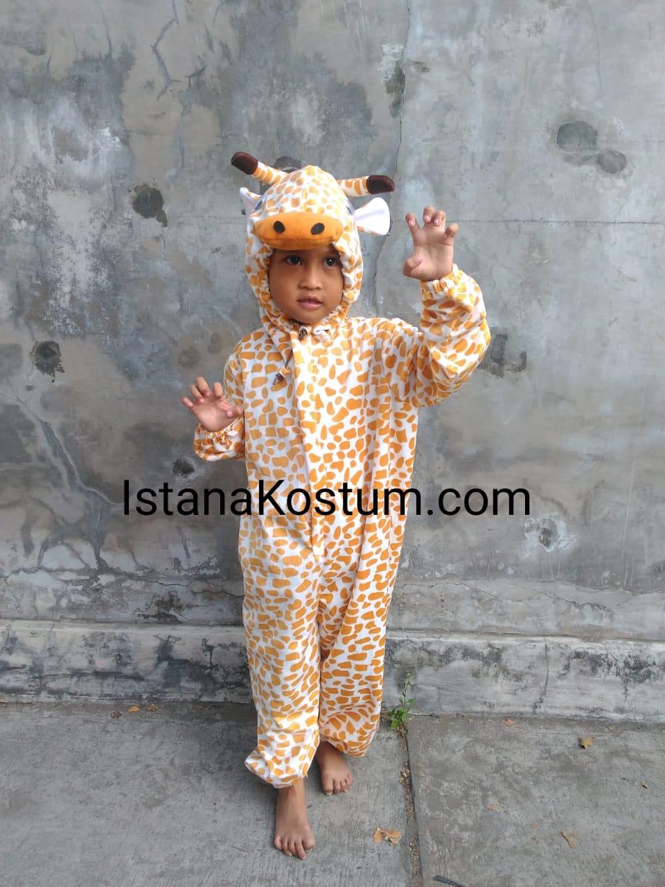 Promo Kostum Badut Anak Karakter Jerapah