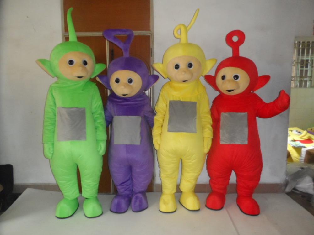 Promo Paket Lengkap Kostum Badut Teletubbies