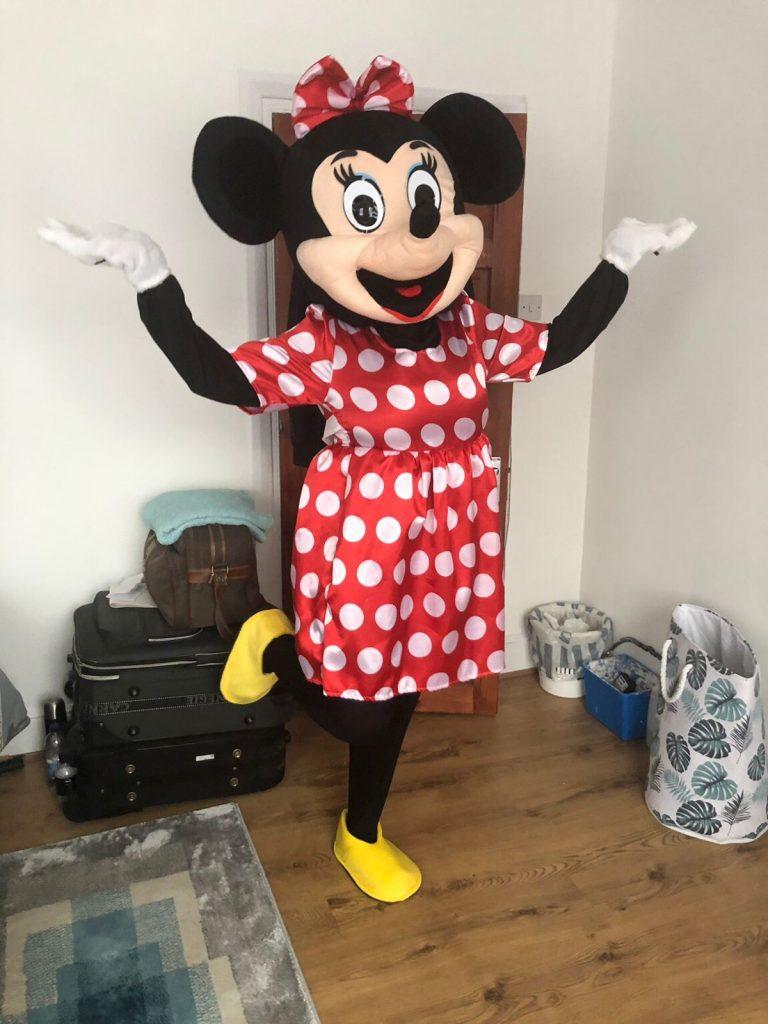 Badut Ulang Tahun Minnie Mouse Murah
