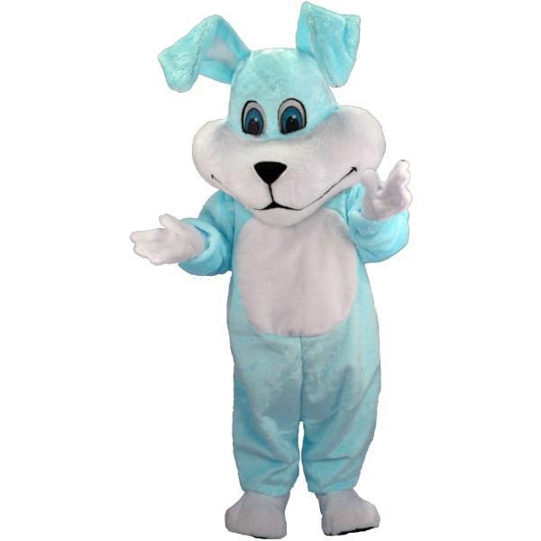 Kostum Badut Blue Bunny Event Ulang Tahun