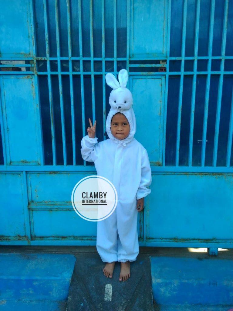 Produsen Kostum Anak Kelinci Putih Lucu