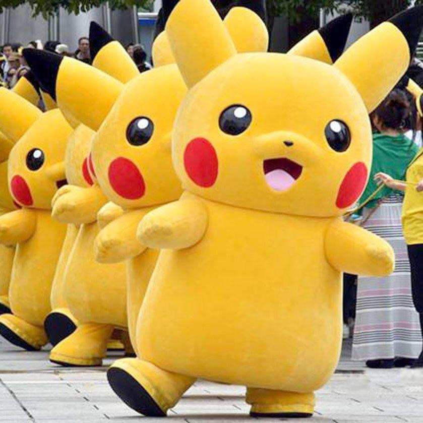 Promo Kostum Badut Pikachu November Ceria