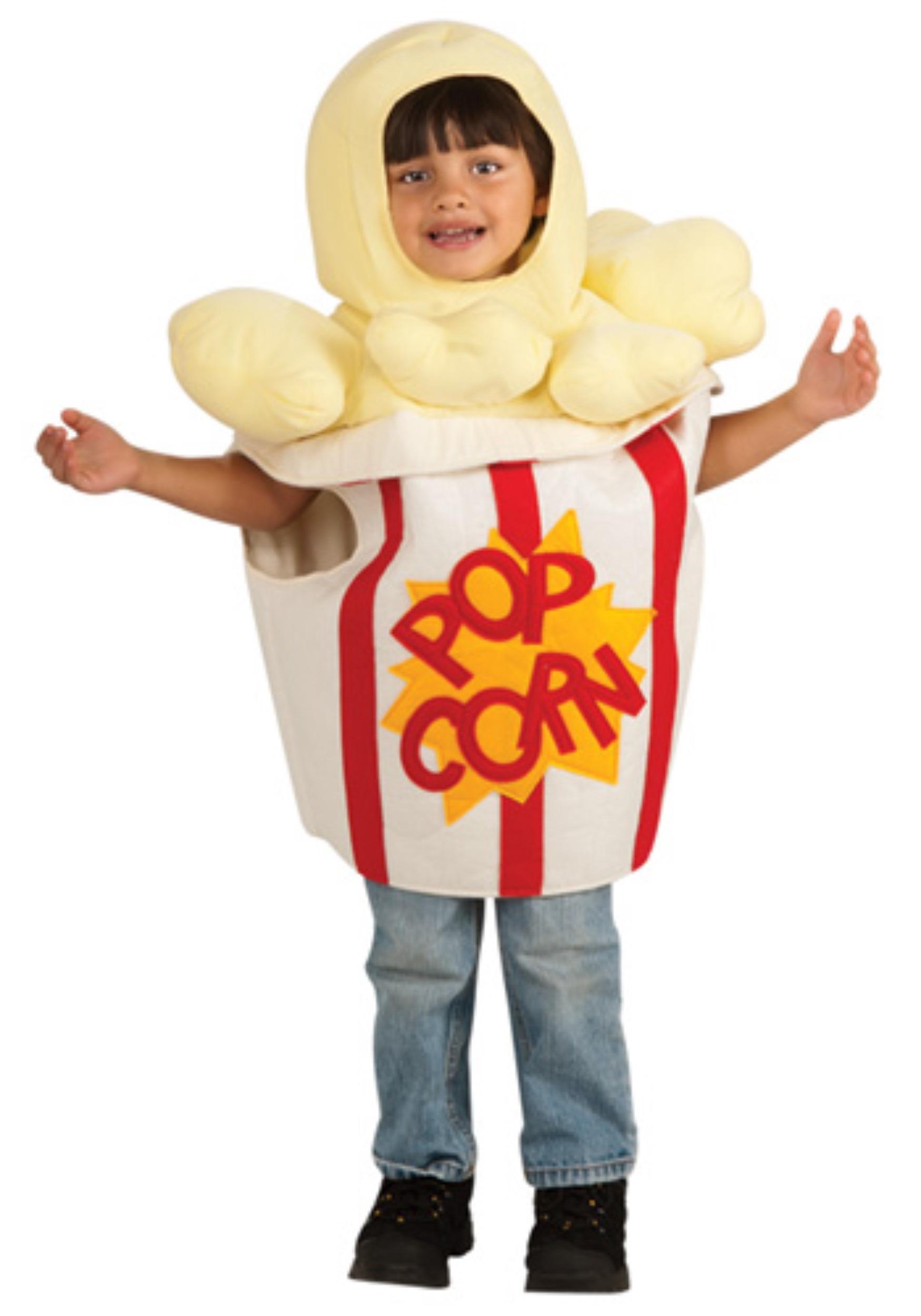 Kostum Anak Pop Corn Lucu