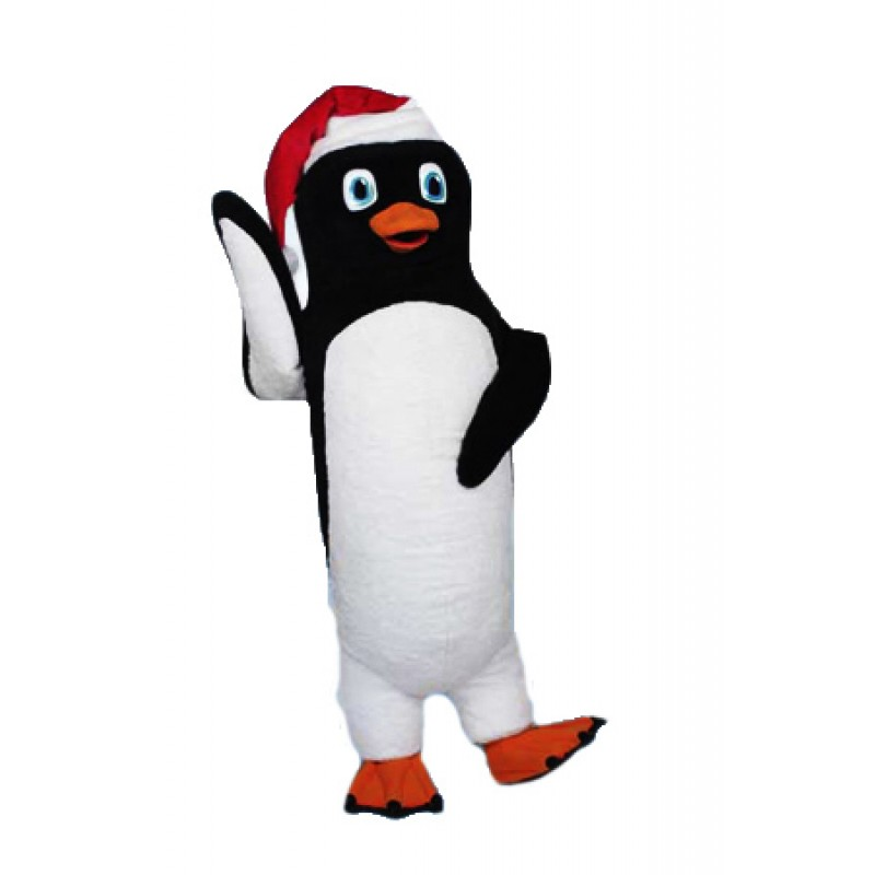 Kostum Badut Penguin Natal Lucu