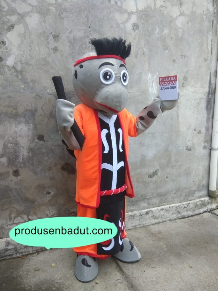 Produsen Badut Maskot KPU Berau Pilkada Kalimantan Timur 2020