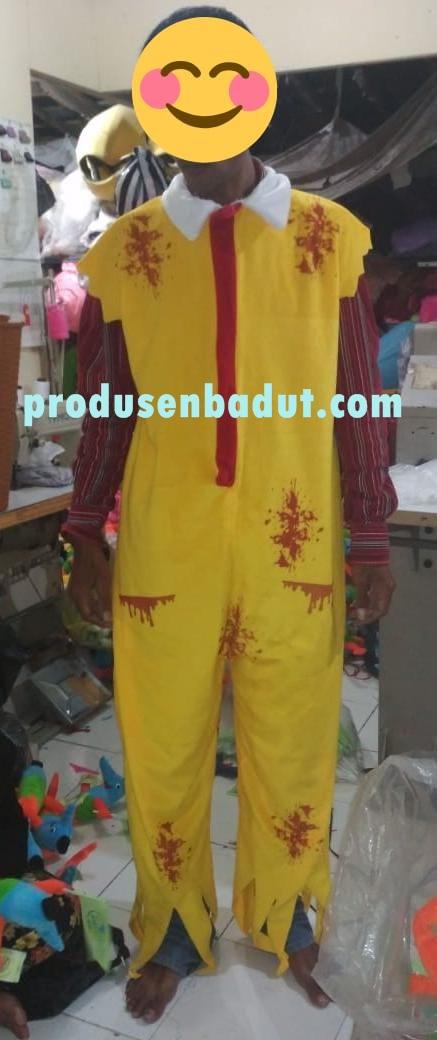 Kostum Badut Maskot Mc Donald Unik