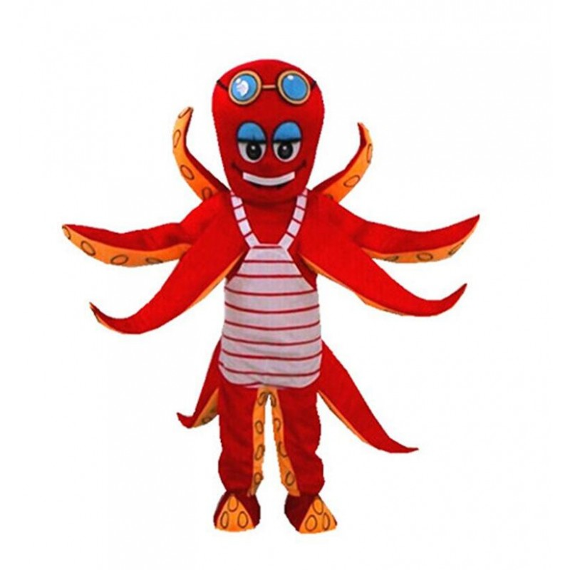 Kostum Badut Octopus Gurita Unik