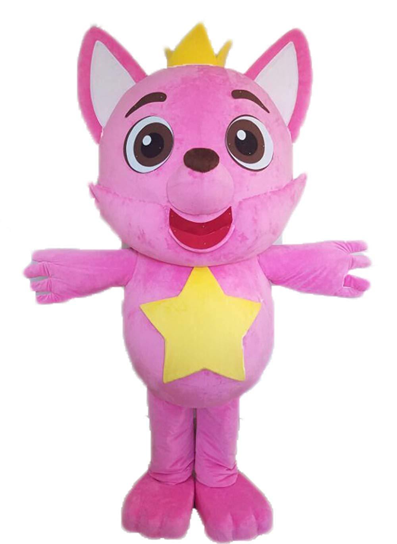 Pink Bear Kostum Badut Ulang Tahun