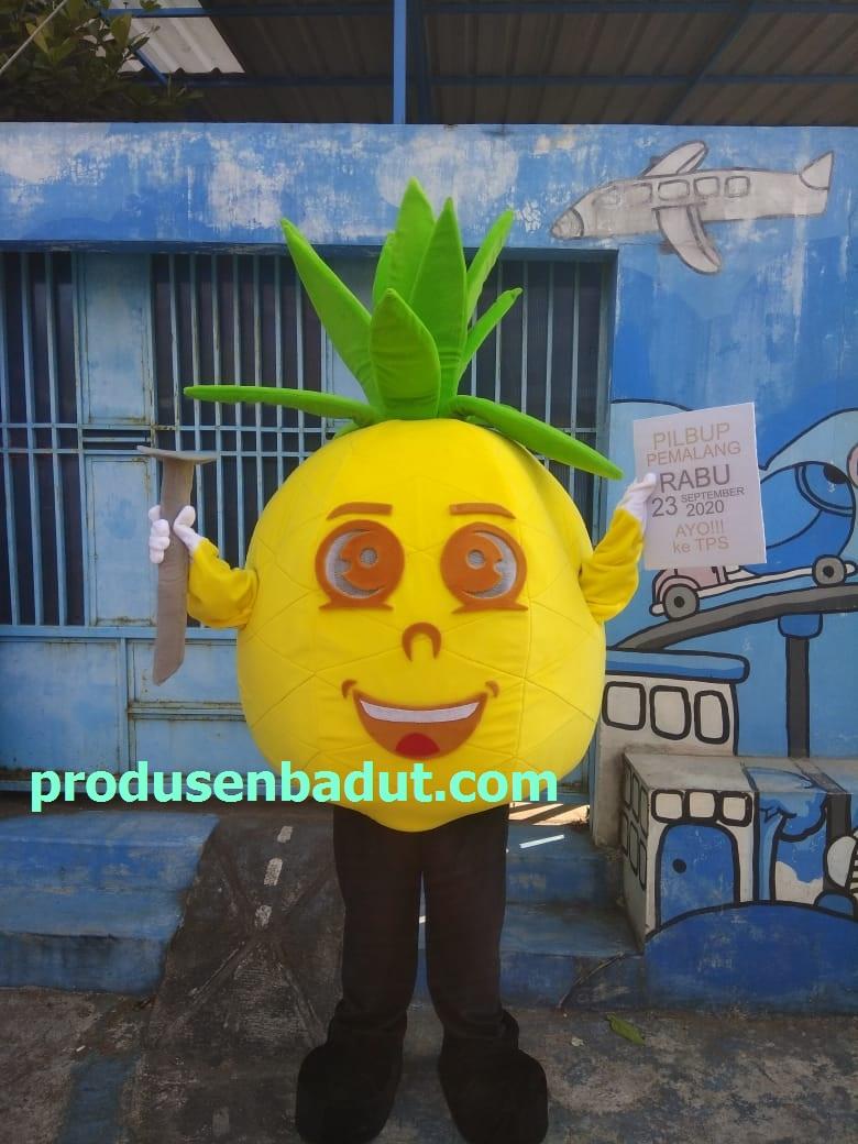 Produsen Badut Maskot PILKADA Pemalang Karakter Nanas Madu