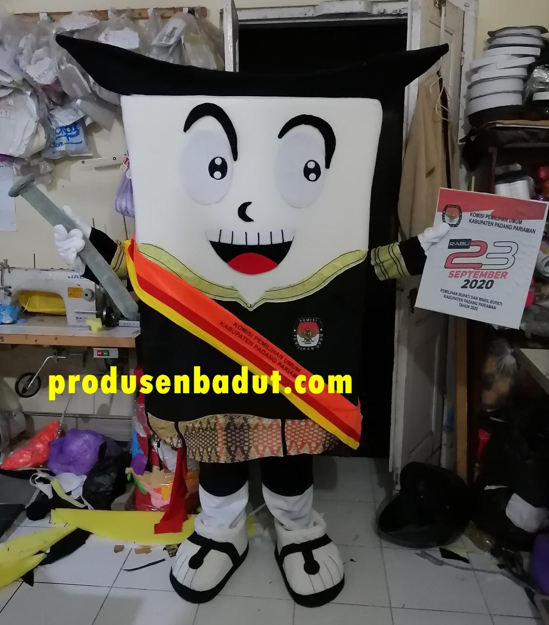 Produsen Badut Maskot KPU Kabupaten Padang Pariaman PILKADA 2020