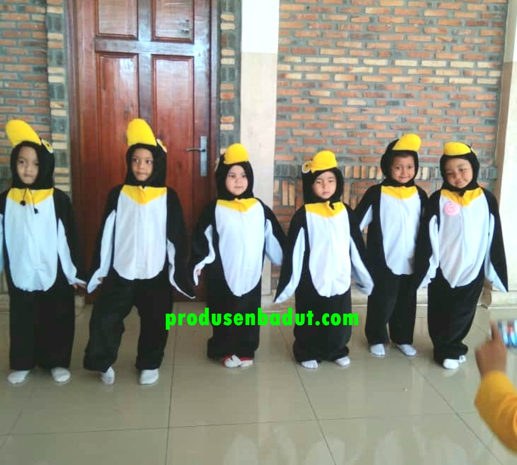 Promo Kostum Pinguin Kids Series