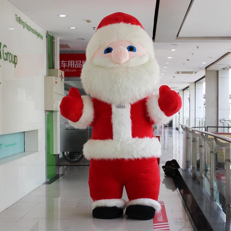 Santa Claus Badut Maskot Event Natal