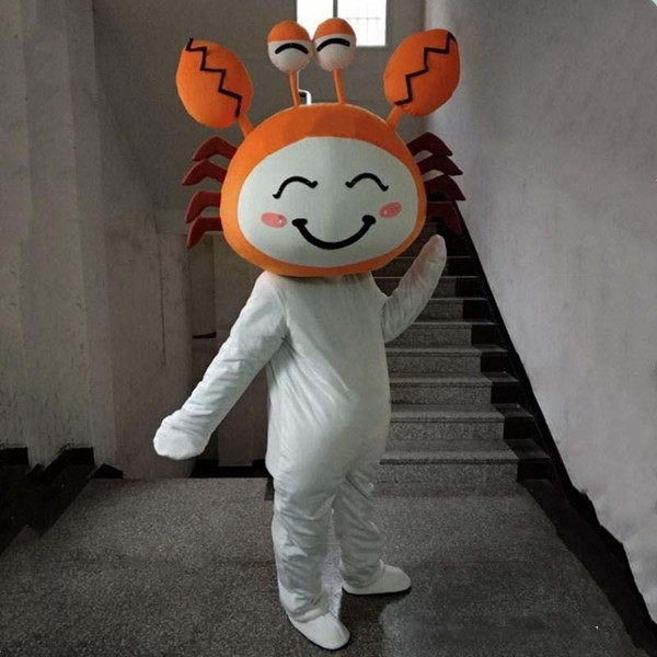 Kostum Badut Crab Kepiting untuk Event
