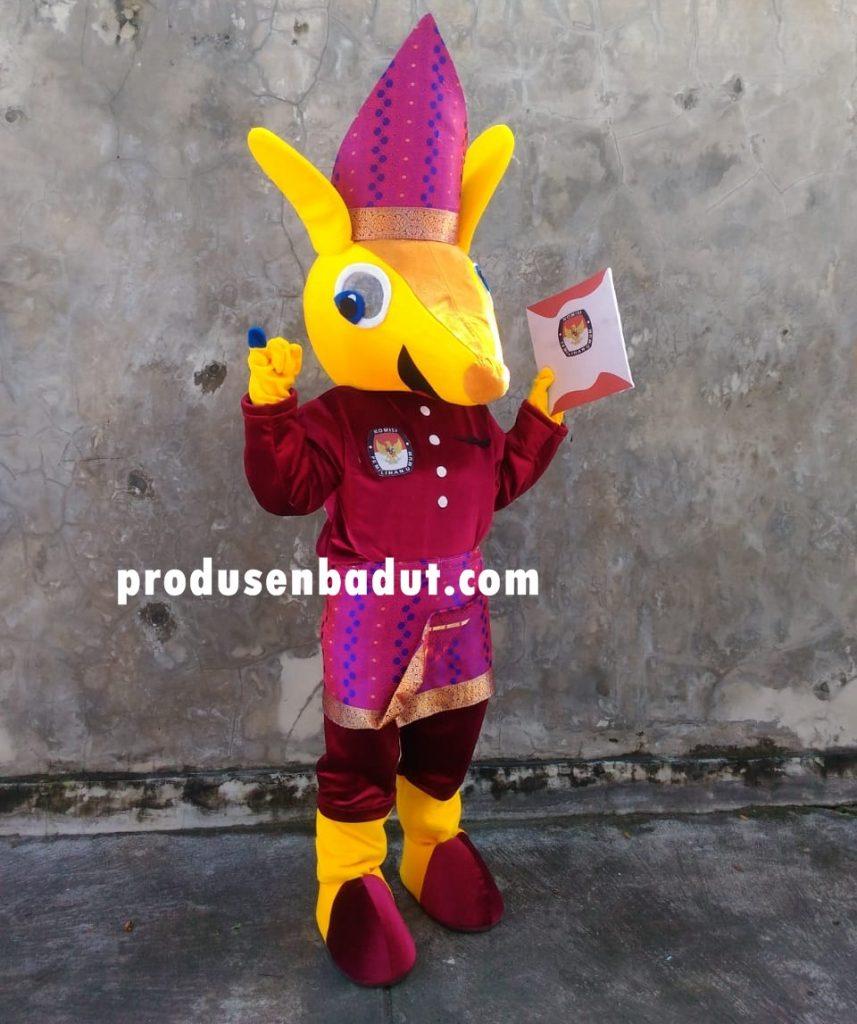 Produsen Badut Maskot KPU Bangka Barat Pulau Sumatera