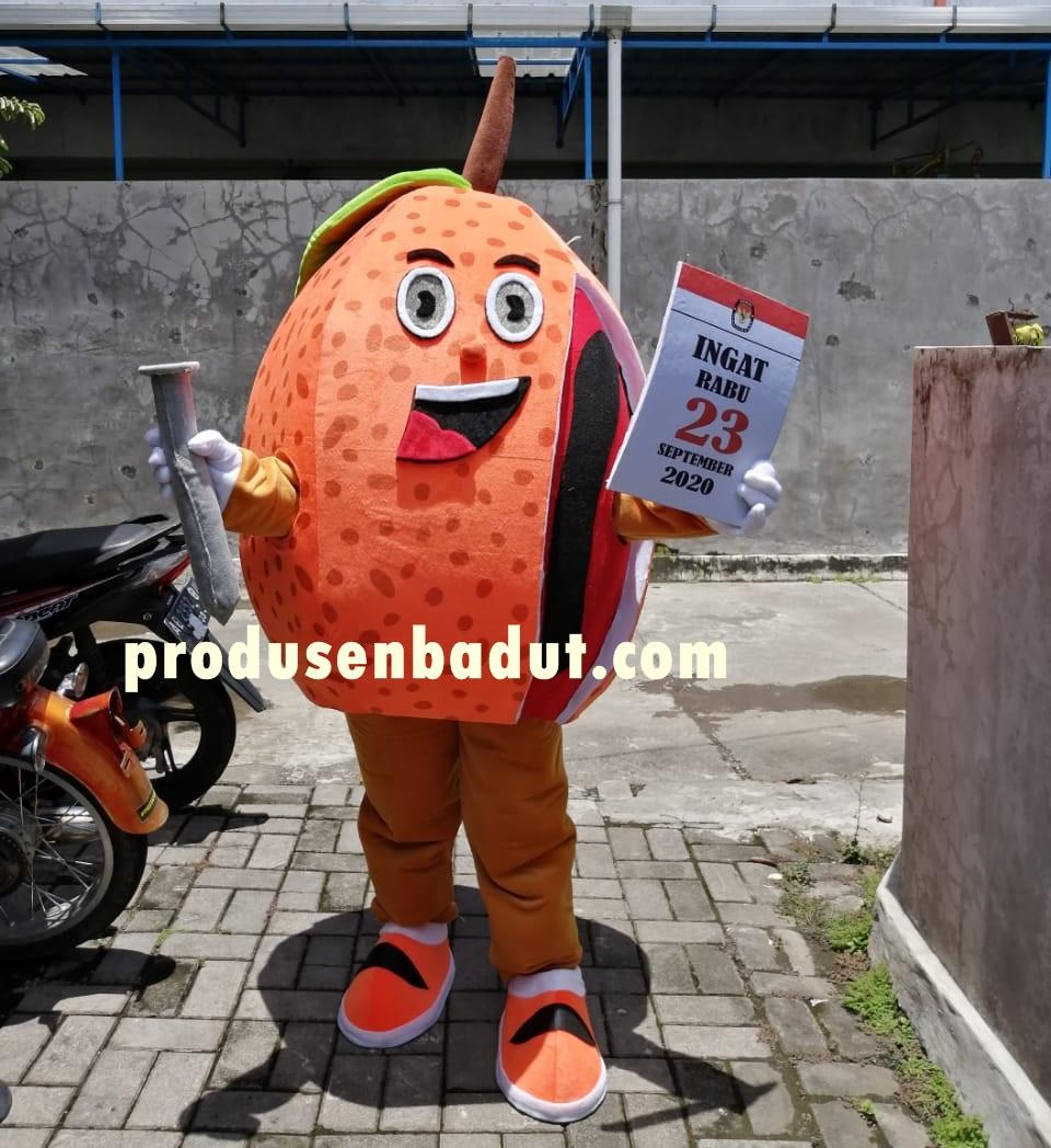 Produsen Badut Maskot KPU Fak-Fak Papua
